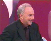 Tony Gregory during Bit Bite programme